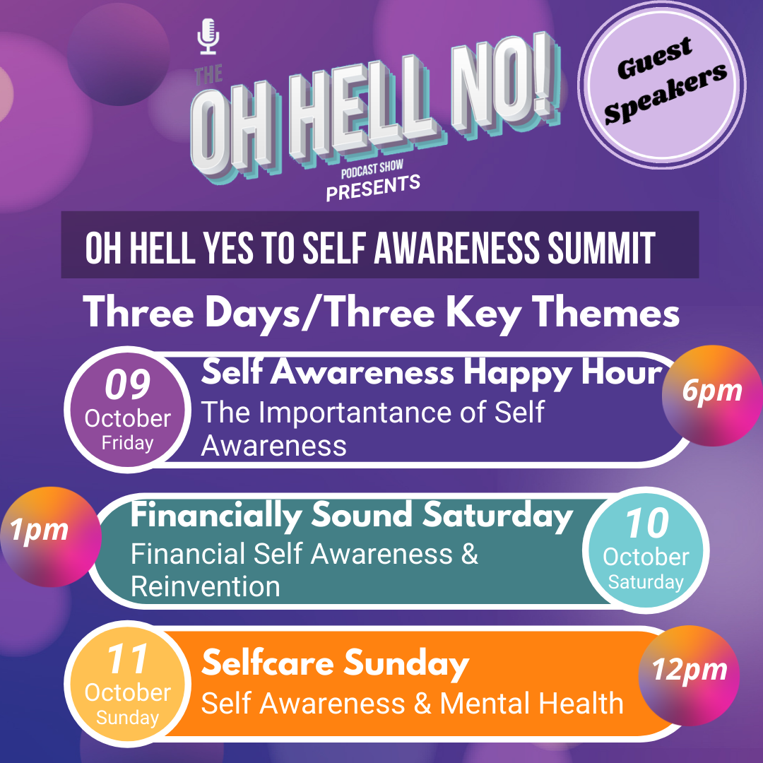 Oh Hell Yes to Self Awareness Summit